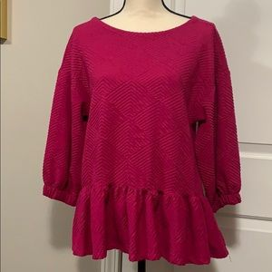 Anthropologie Maeve blouse top size small